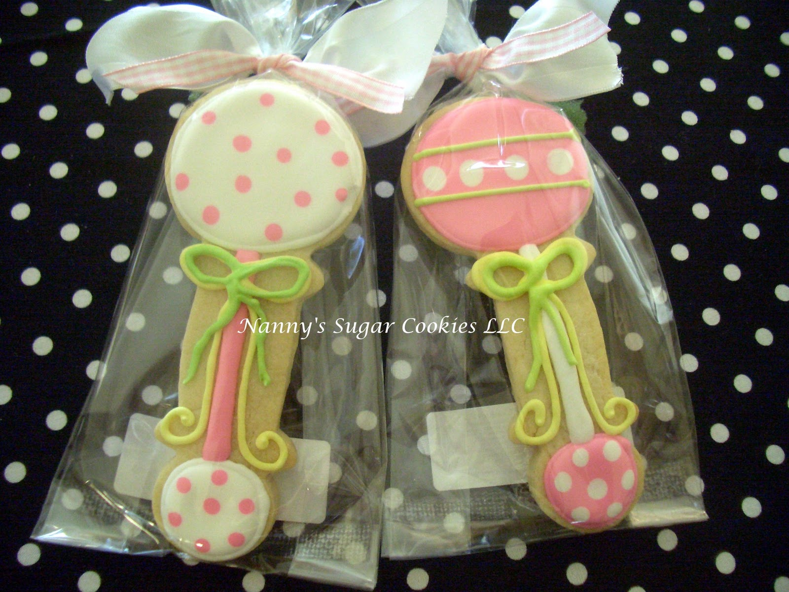 received a phone call for this order of baby shower cookie favors