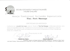 Seminario Thai Foot Massage (Reflexología Tailandesa)