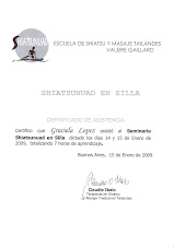 Seminario Shiatunuad en silla