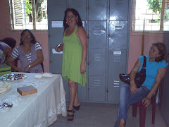 Professoras Sandra, Analice e Fátima Tomé