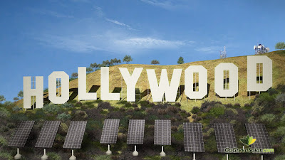ggs.sphs.solar.trees Solar panels at the famous Hollywood sign?