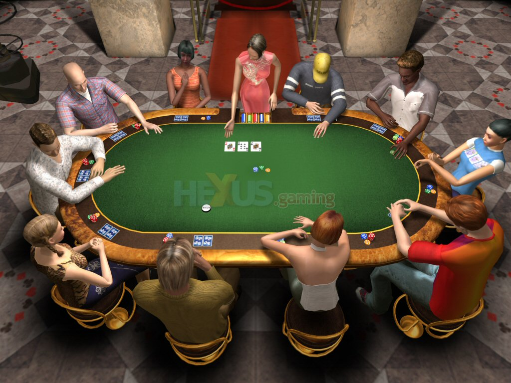 free poker casino games