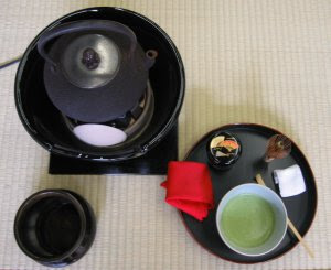 Art of tea ceremony