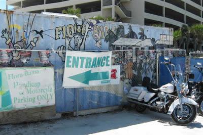 Flora-Bama's entrance