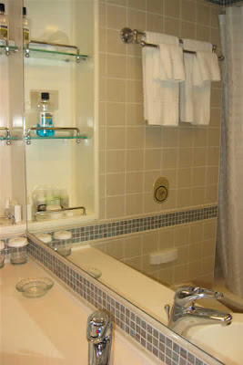 Cabin D505, bathroom