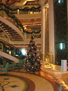 Christmas Tree on Emerald Princess