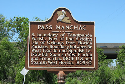 Pass Manchac Historic Roadside Marker