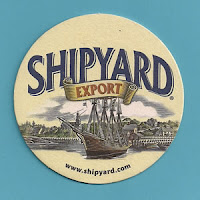 Bar coaster: Shipyard Brewery, Portland, Maine