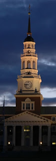 Library Tower at Colby College