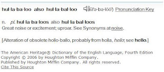 What's all the Hullabaloo?