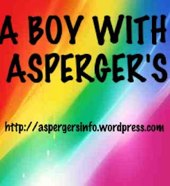 A boy with Aspergers