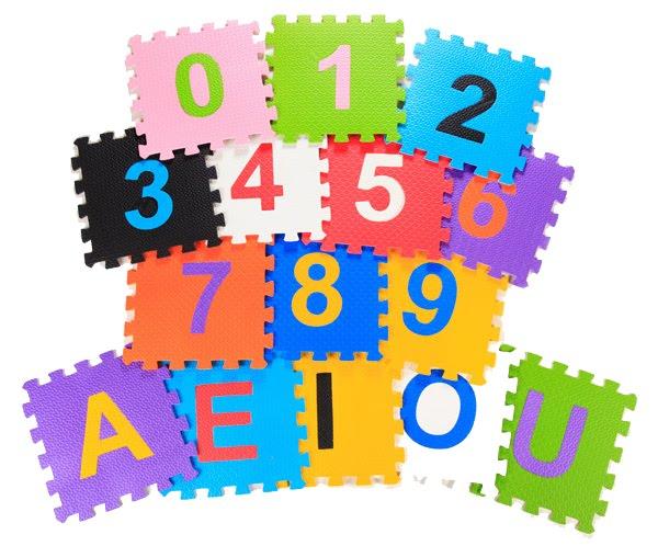 Aprender junto a las vocales y los numeros