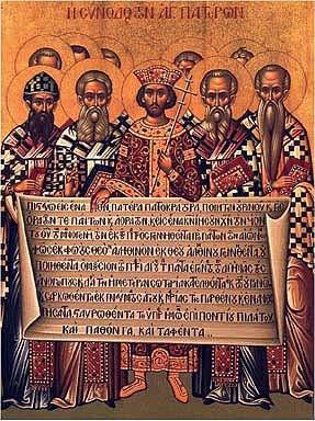 POTPOURRI: First COUNCIL of NICEA ~ 325 C.E.