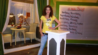pro7 host beate igel in kani ladies germany fantastic celebrity. Black Bedroom Furniture Sets. Home Design Ideas