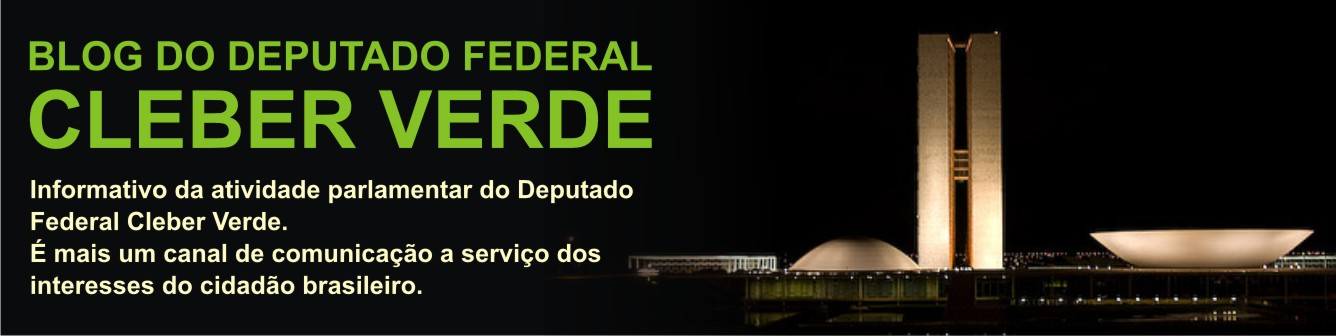 BLOG DO DEPUTADO CLEBER VERDE