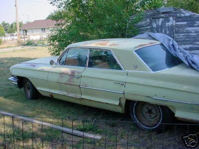 1962 cadillac sedan parts car
