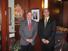 Kingston Mayor Mark Gerretsen and I Outside His City Hall Office