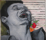 Laugher With Flowers