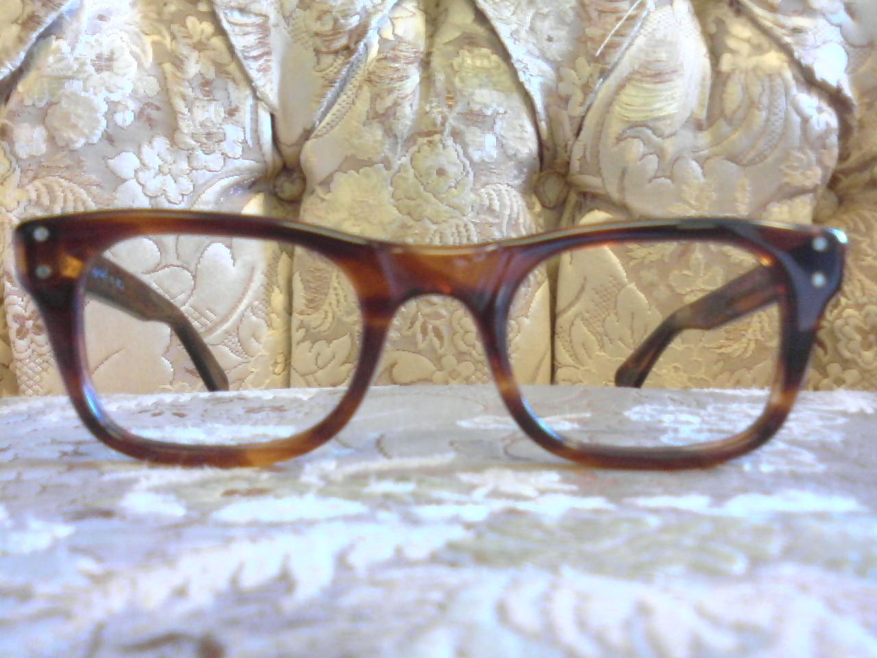 Eyeglass Frame Repair Long Beach Ca : Gentlemens Breakfast: 1960s Tortoise Frames:
