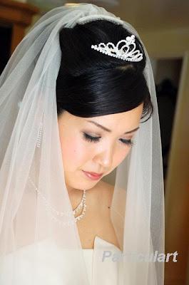 Gold Coast Wedding Makeup And Hair : Gold Coast Asian Makeup - Japanese Bride Ai 3rd May 09