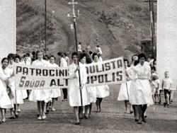 Até o início dos anos 1960 não havia asfalto até Batatais