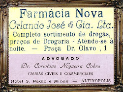 A Farmácia Nova, ícone da cidade.