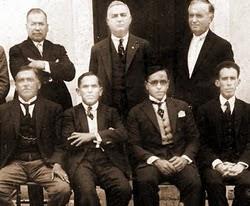 Os primeiros pastores protestantes - Acervo Oldemar Brondi
