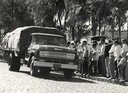 Até os anos 1970, caminhões pra dar e vender.