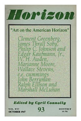"""AMERICAN ADVERTISING"" in HORIZON OCTOBER 1947"