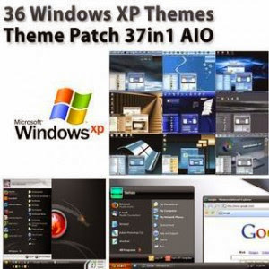 Download 36 Windows XP Themes + 37 Theme Patch (AIO)