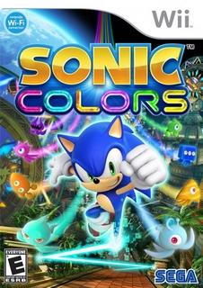 sonic colors nintendo wii Sonic Colors   Nintendo WII