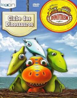 dinotremposter Dinotrem   Clube dos Dinossauros DVD R