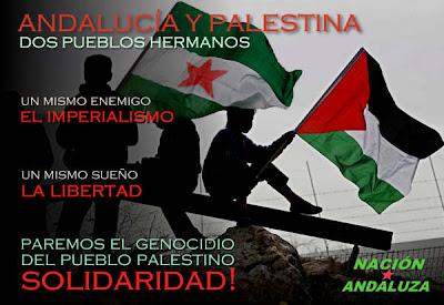 ¿se ha vuelto loco? - Página 2 Cartel+Andaluc%C3%ADa+y+Palestina,+Pueblos+Hermanos