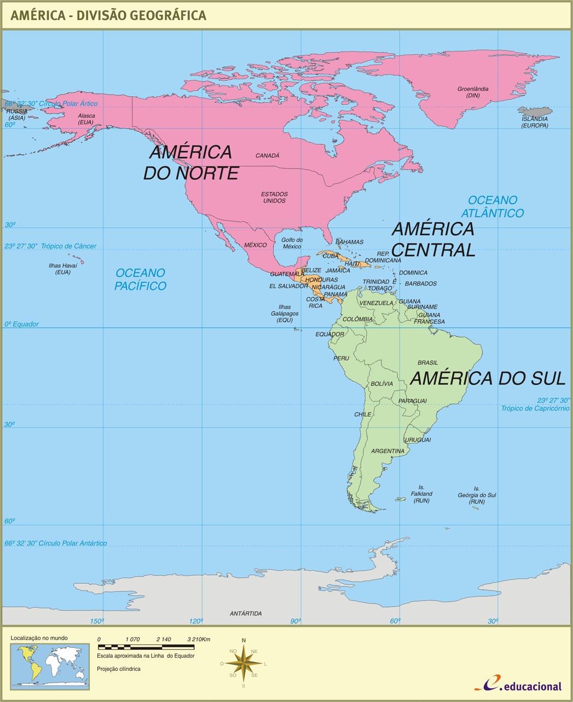 """ANTENADO COM GEOGRAFIA...: """"DESVENDANDO A AMÉRICA"""""""