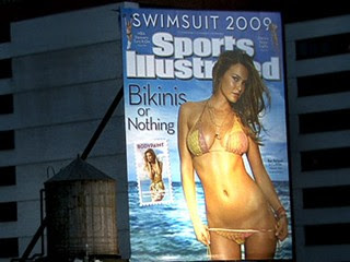 Sports Illustrated Swimsuit Cover Girl is Bar Refaeli. Leo DiCaprio's Girlfriend.