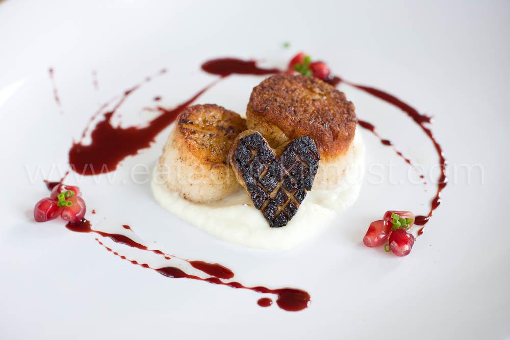 Scallops, Foie Gras