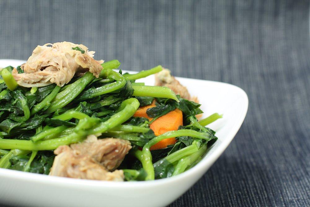 Pork Bone and Watercress Soup
