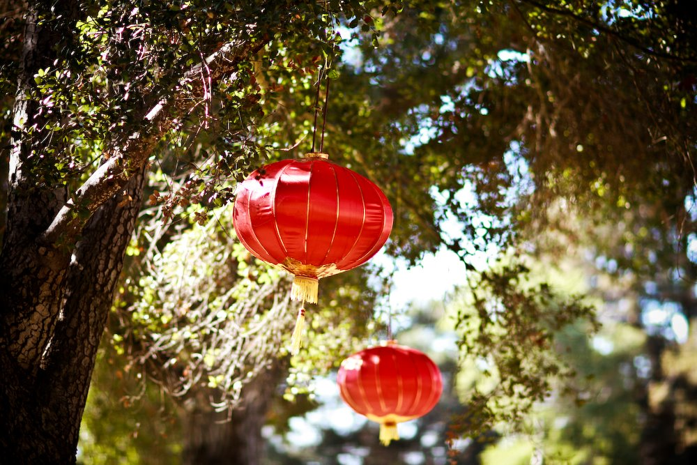 Huntington Library Lanterns