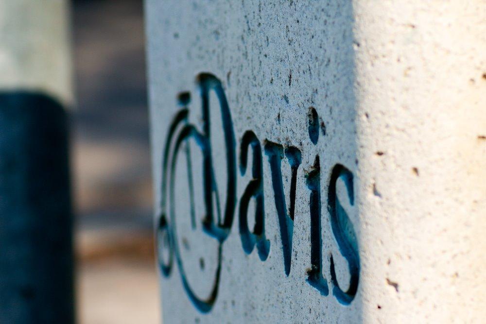 Davis Farmers Market Garbage Can