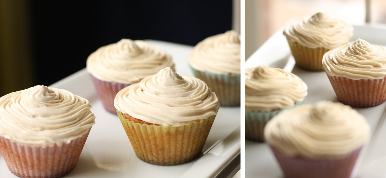 Carrot-Coconut Cupcakes with Brown Butter Buttercream