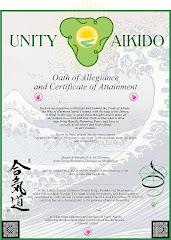 Dan Grade Certificate