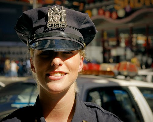 hot nypd cop