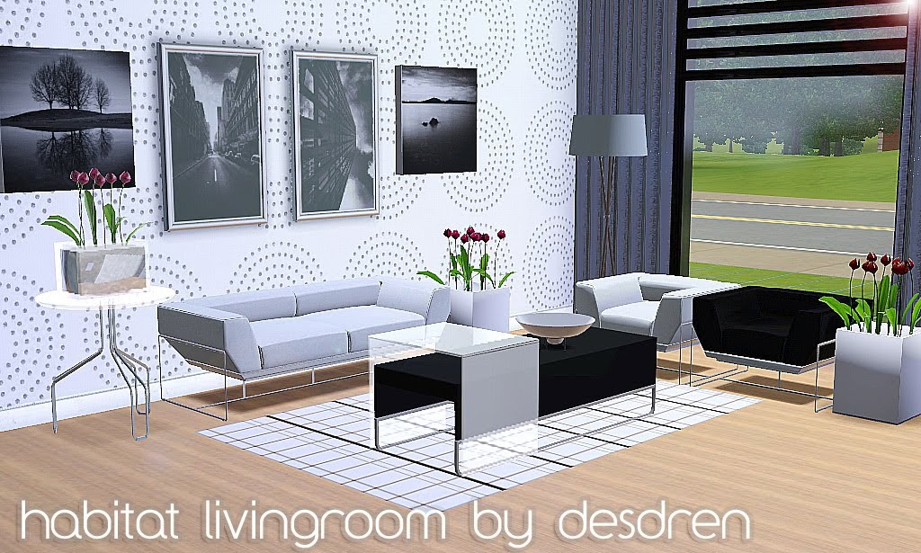 Sims Living Room