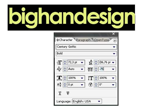 how to make font with an outline in illustrator
