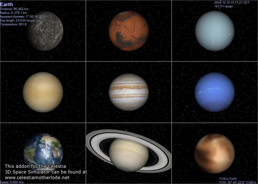 on these planets. There are nine planets are there