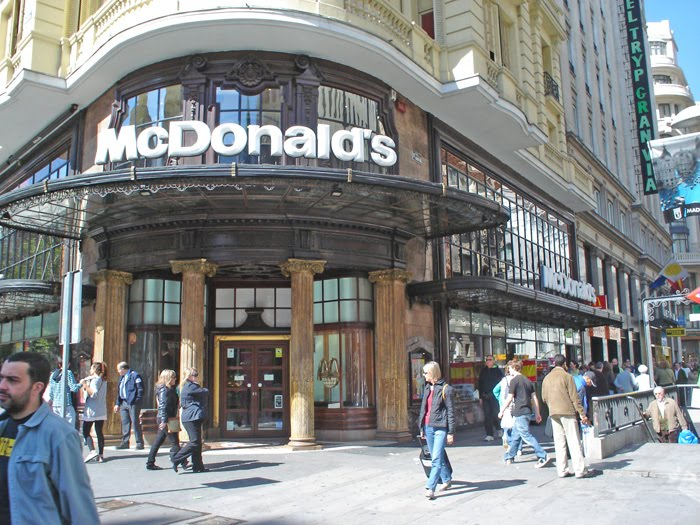 Nosolometro el primer mc donalds de madrid for Oficinas mcdonalds madrid