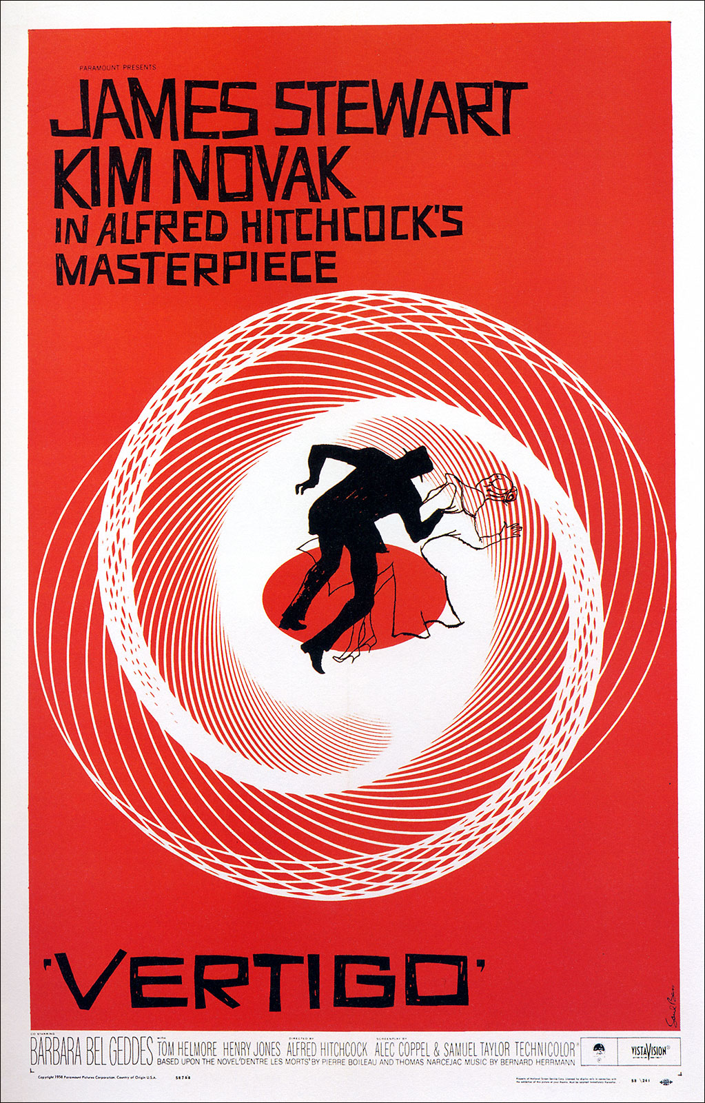 flyer goodness  27 years of classic movie posters by saul bass  1954