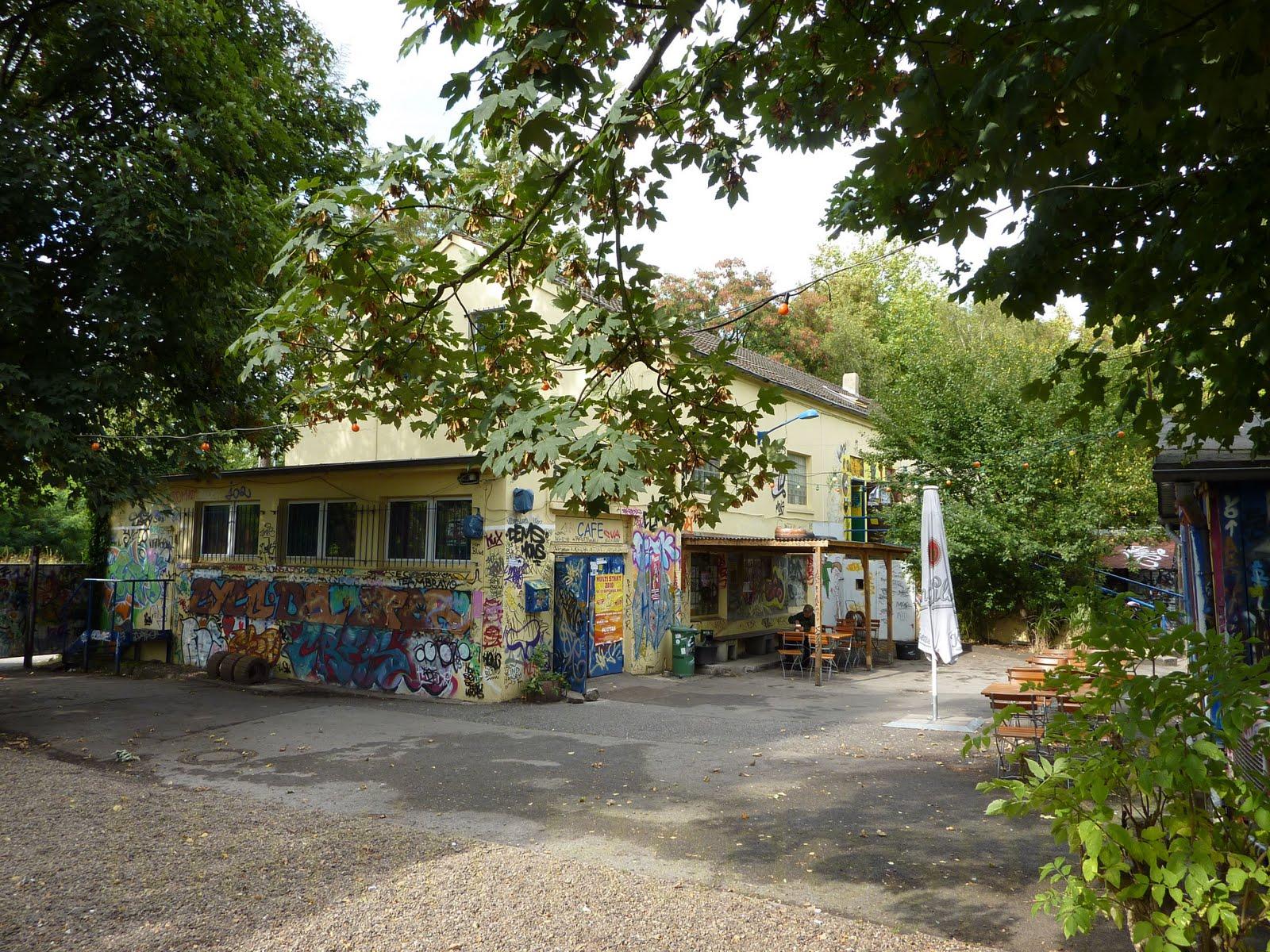 KulturPott: Gartencafeeröffnung Druckluft