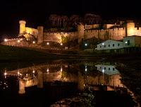 tossa de mar castillo noche