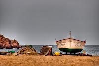 Tossa- barca de pescador